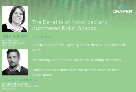 New Podcast Shows Value of Shade Automation