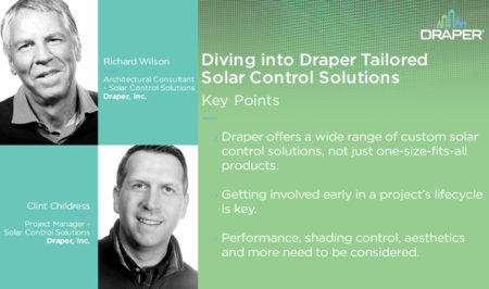 Diving into Draper Tailored Solar Control Solutions