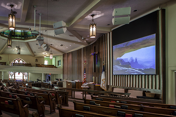 Screens for Worship Facilities