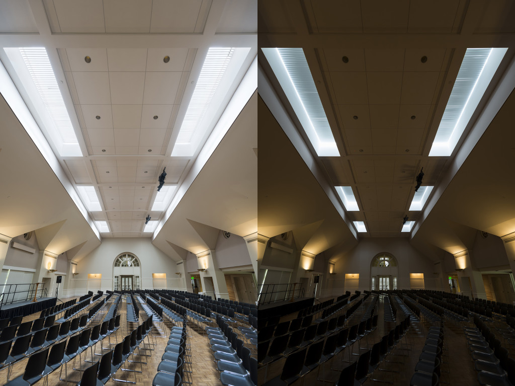 Draper's Solar Control Solution for Houston Church