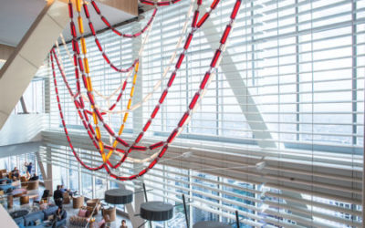 Custom Venetian Blinds Add Special Touch to Tallest Building West of the Mississippi River